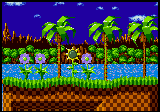 Background Hq Sonic The Hedgehog Green Hill Zone
