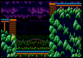 Background Hq Sonic The Hedgehog 2 Mystic Cave Zone