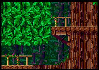 Background HQ :: Sonic the Hedgehog 2 - Wood Zone