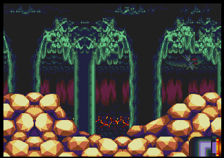 Background Hq Sonic And Knuckles Lava Reef Zone