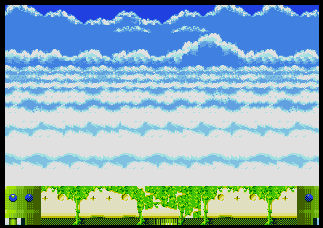 Background Hq Sonic And Knuckles Sky Sanctuary Zone