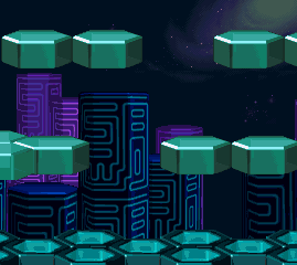 Background Hq Megaman X4 Cyber Peacock