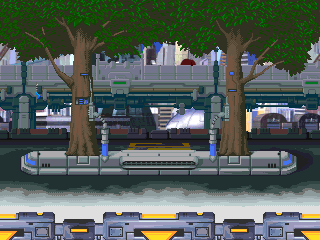 Background Hq Megaman X5 Intro Stage