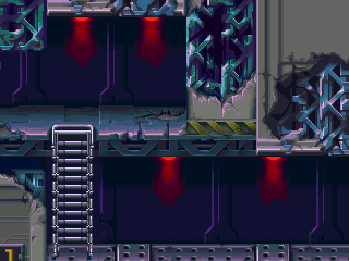 Background HQ :: Megaman X6 - Intro Stage