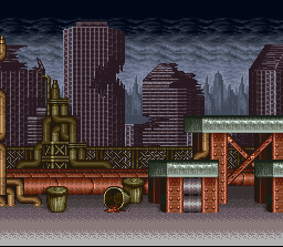 Background Hq Contra Iii The Alien Wars City Streets