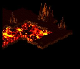 Background HQ :: Super Mario RPG - Barrel Volcano